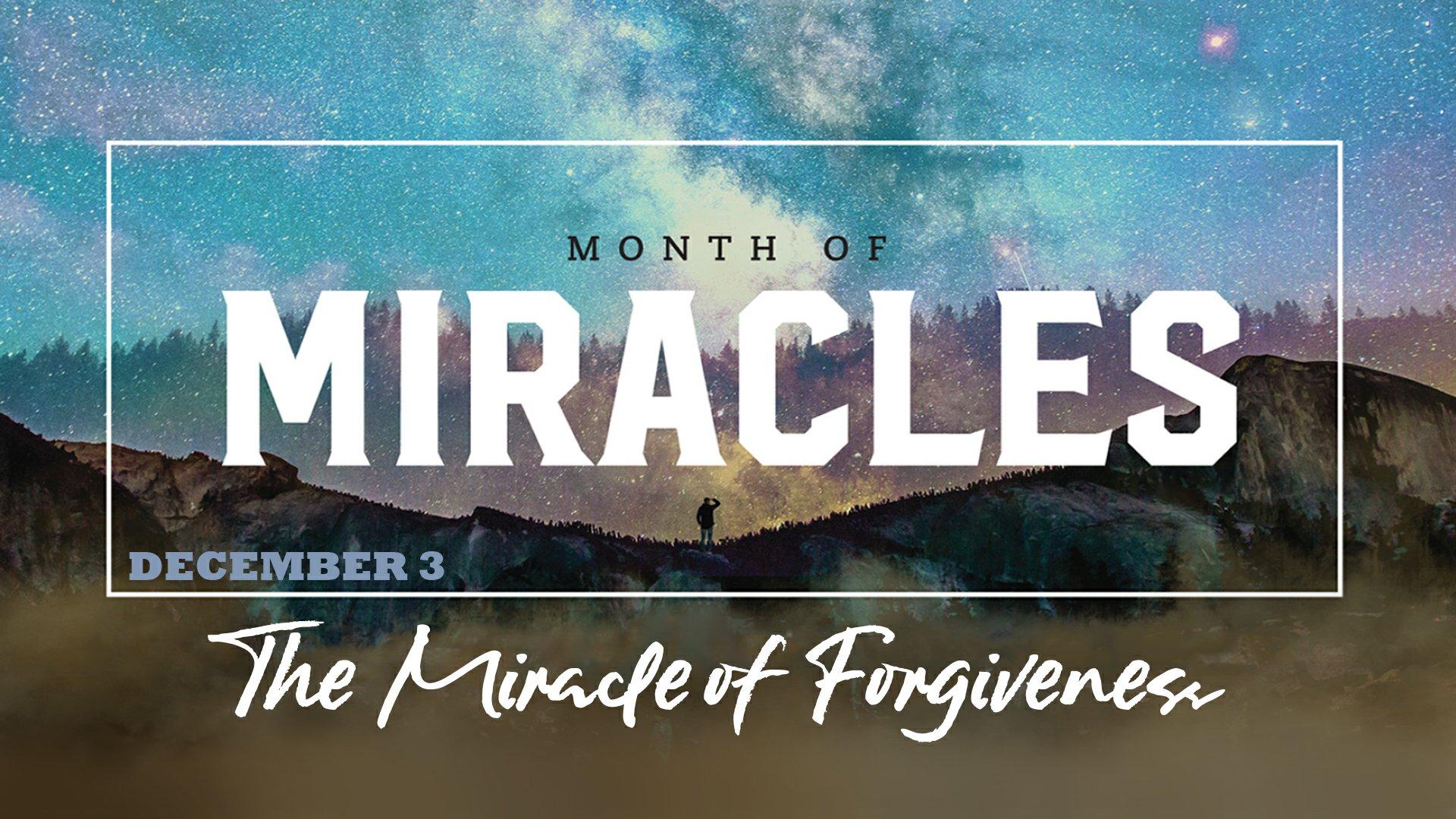 The Miracle of Forgiveness – Rob Rotola